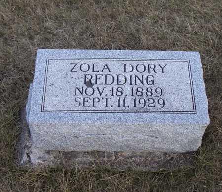 REDDING, ZOLA - Adair County, Iowa   ZOLA REDDING