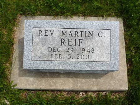 REIF, MARTIN C - Adair County, Iowa | MARTIN C REIF