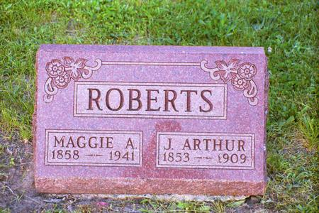 ROBERTS, MAGGIE A. - Adair County, Iowa | MAGGIE A. ROBERTS