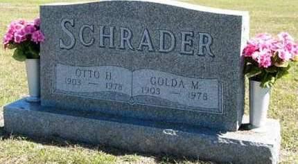 SCHRADER, OTTO H. - Adair County, Iowa | OTTO H. SCHRADER