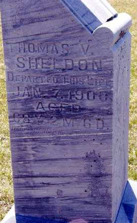 SHELDON, THOMAS V. - Adair County, Iowa | THOMAS V. SHELDON