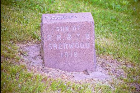 SHERWOOD, ROBERT W. - Adair County, Iowa | ROBERT W. SHERWOOD