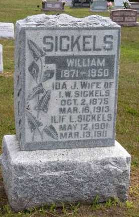 SICKELS, WILLIAM - Adair County, Iowa | WILLIAM SICKELS