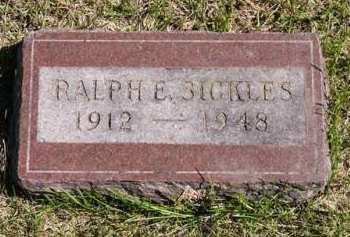 SICKLES, RALPH E. - Adair County, Iowa | RALPH E. SICKLES
