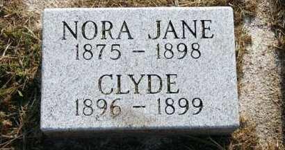 SINNER, CLYDE - Adair County, Iowa   CLYDE SINNER