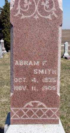 SMITH, ABRAM F. - Adair County, Iowa | ABRAM F. SMITH