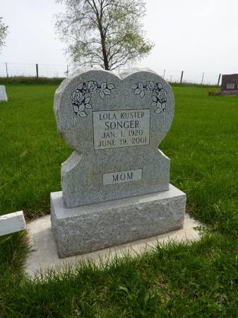 SONGER, LOLA - Adair County, Iowa | LOLA SONGER