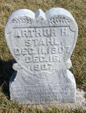 STAHL, ARTHUR H. - Adair County, Iowa | ARTHUR H. STAHL