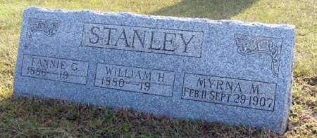 STANLEY, FANNIE G. - Adair County, Iowa | FANNIE G. STANLEY