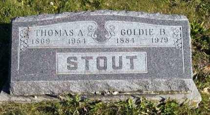 STOUT, GOLDIE B. - Adair County, Iowa | GOLDIE B. STOUT