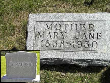 STRAUSER, MARY JANE - Adair County, Iowa | MARY JANE STRAUSER