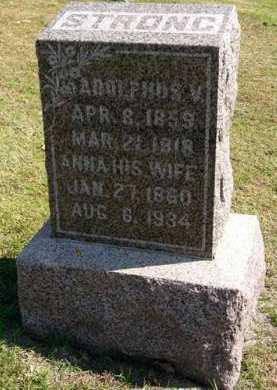 STRONG, ADOLPHUS V. - Adair County, Iowa | ADOLPHUS V. STRONG