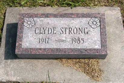 STRONG, CLYDE - Adair County, Iowa | CLYDE STRONG