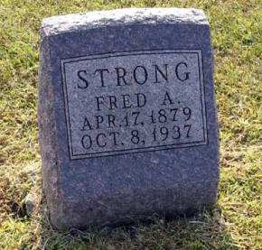 STRONG, FRED A. - Adair County, Iowa | FRED A. STRONG