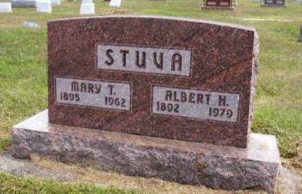 STUVA, MARY T. - Adair County, Iowa | MARY T. STUVA