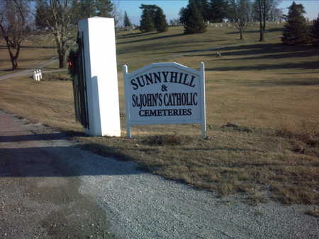 SUNNY HILL, CEMETERY - Adair County, Iowa   CEMETERY SUNNY HILL
