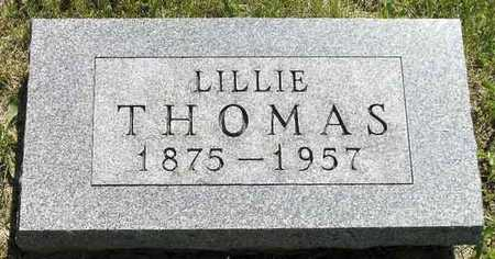 THOMAS, LILLIE - Adair County, Iowa | LILLIE THOMAS