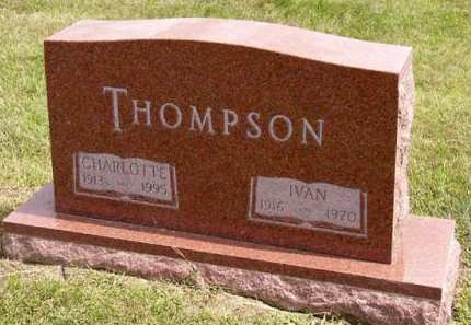THOMPSON, CHARLOTTE - Adair County, Iowa | CHARLOTTE THOMPSON