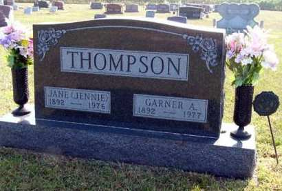 THOMPSON, JANE - Adair County, Iowa | JANE THOMPSON
