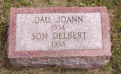 THOMPSON, DELBERT - Adair County, Iowa | DELBERT THOMPSON