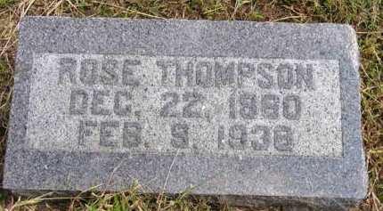 THOMPSON, ROSE - Adair County, Iowa | ROSE THOMPSON