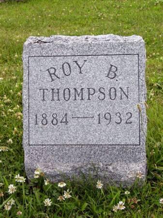 THOMPSON, ROY B. - Adair County, Iowa | ROY B. THOMPSON