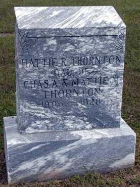 THORNTON, HATTIE R. - Adair County, Iowa | HATTIE R. THORNTON