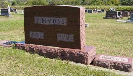 TIMMONS, BELLE C. - Adair County, Iowa | BELLE C. TIMMONS