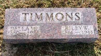 TIMMONS, DELLA M. - Adair County, Iowa | DELLA M. TIMMONS