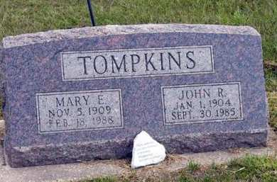 TOMPKINS, MARY E. - Adair County, Iowa | MARY E. TOMPKINS