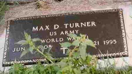 TURNER, MAX DANA - Adair County, Iowa | MAX DANA TURNER