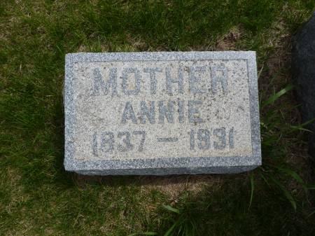 VARLEY, ANNIE - Adair County, Iowa | ANNIE VARLEY