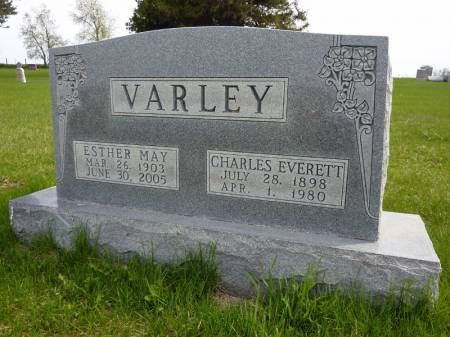 VARLEY, CHARLES EVERETT - Adair County, Iowa | CHARLES EVERETT VARLEY