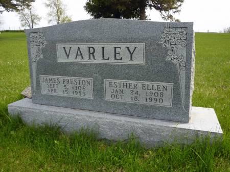 VARLEY, JAMES PRESTON - Adair County, Iowa | JAMES PRESTON VARLEY