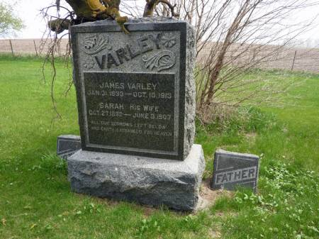 VARLEY, JAMES - Adair County, Iowa | JAMES VARLEY