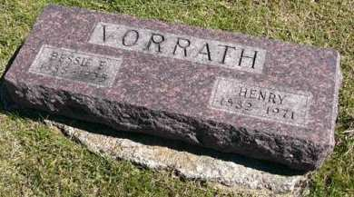 VORRATH, HENRY - Adair County, Iowa | HENRY VORRATH