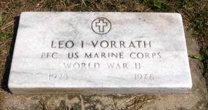 VORRATH, LEO I. - Adair County, Iowa | LEO I. VORRATH