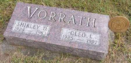 VORRATH, CLEO I. - Adair County, Iowa | CLEO I. VORRATH