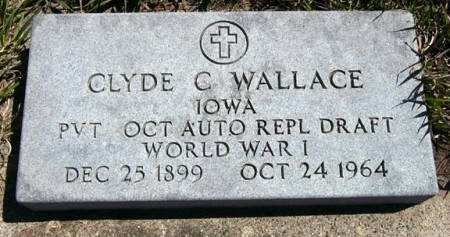 WALLACE, CLYDE C. - Adair County, Iowa | CLYDE C. WALLACE