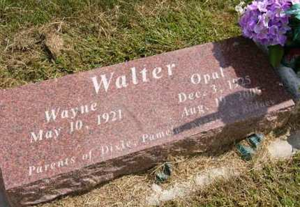 WALTER, OPAL - Adair County, Iowa | OPAL WALTER
