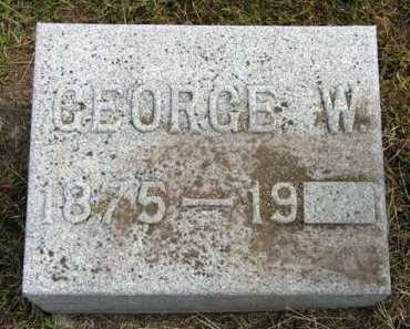 WARRIOR, GEORGE W. - Adair County, Iowa | GEORGE W. WARRIOR