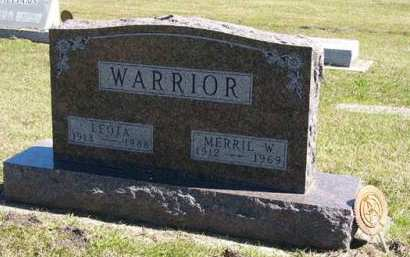 WARRIOR, LEOTA - Adair County, Iowa | LEOTA WARRIOR