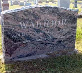 WARRIOR, THOMAS - Adair County, Iowa | THOMAS WARRIOR
