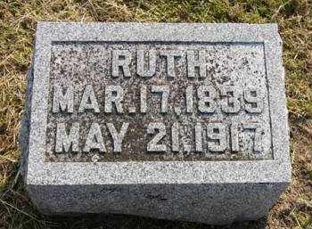 WARRIOR, RUTH - Adair County, Iowa   RUTH WARRIOR