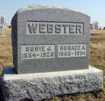 WEBSTER, HORACE A. - Adair County, Iowa | HORACE A. WEBSTER