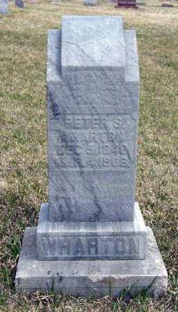 WHARTON, PETER S. - Adair County, Iowa | PETER S. WHARTON