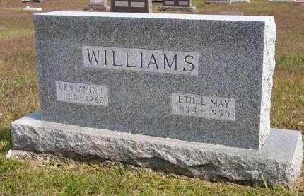 WILLIAMS, BENJAMIN F. - Adair County, Iowa | BENJAMIN F. WILLIAMS