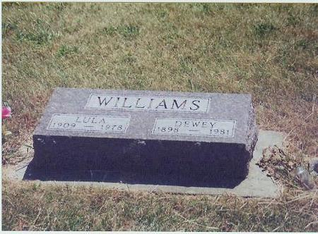 WILLIAMS, LULA - Adair County, Iowa | LULA WILLIAMS