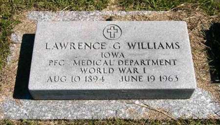 WILLIAMS, LAWRENCE G. - Adair County, Iowa | LAWRENCE G. WILLIAMS
