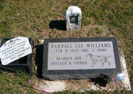 WILLIAMS, RANDALL LEE - Adair County, Iowa   RANDALL LEE WILLIAMS